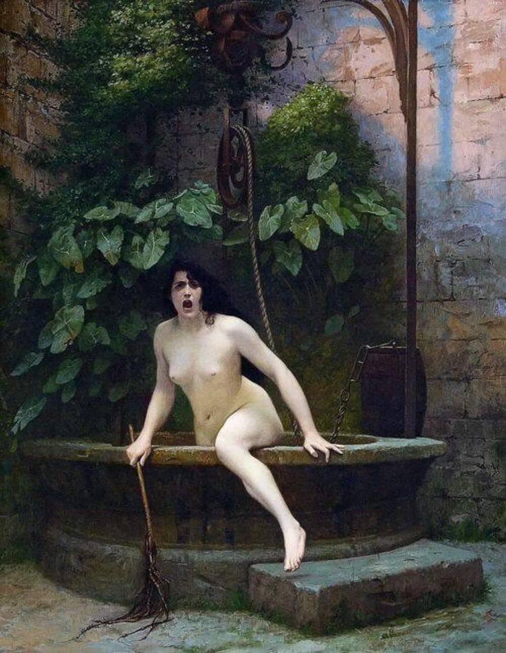 La verdad saliendo del pozo. Jean-Léon Gerôme (1824 – 1904).